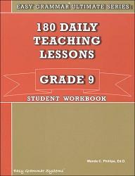 Easy Grammar Ultimate Series Grade  9 Workbook