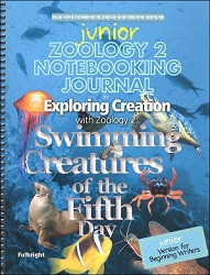 Apologia Exploring Creation with Zoology 2 - Swimming Creatures of the Fifth Day Junior Notebooking Journal
