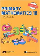 Primary Mathematics 1B Textbook