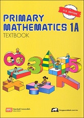 Primary Mathematics 1A Textbook