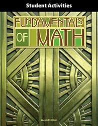 Fundamentals of Math Student Activities (2nd Ed.)
