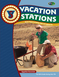 Vacation Stations: Egyptian Excursion (for 6th gd. going into 7)