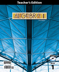 Algebra 1 Teacher's Edition (3rd Ed.)