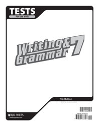 Writing and Grammar 7 Test (3rd Ed.)