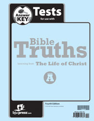 Bible Truths Level A Test Answer Key (4th Ed.)