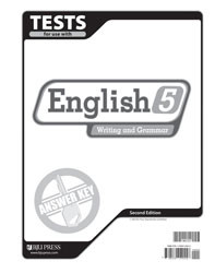 English 5 Test Answer Key (2nd Ed.)