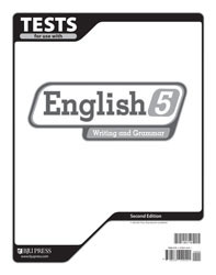 English 5 Test (2nd Ed.)