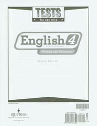 English 4 Test (2nd Ed.)