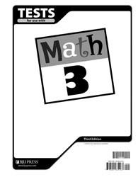 Math 3 Test (3rd Ed.)