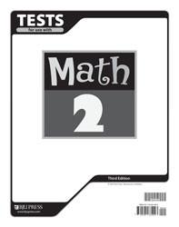 Math 2 Test (3rd Ed.)