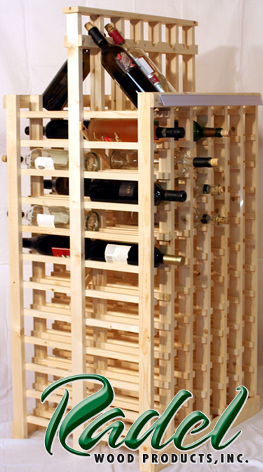 Pine 144-Bottle 2-Sided  Display