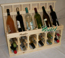 Pine 750ml 18-Bottle Display