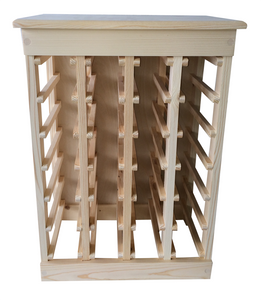 24-Bottle Wine Rack (Pine)