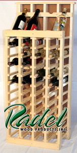48-Bottle Display (Pine) (RWP017)