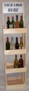 All-Purpose 4-Shelf Display (Natural)
