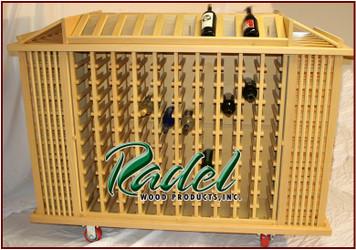 384-Bottle Portable Display