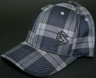 Plaid Black/Grey hats SKU # 0217-91