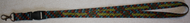 Ballz Racing Plaid Lanyard (CYAN&RED&YELLOW)