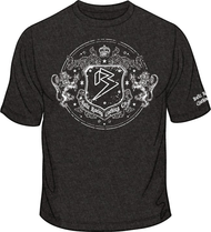 ROYAL B SEAL PREMIUM Vintage Black T-shirt SKU # 0181-0102