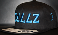 B477Z Black & Cyan SNAPBACK SKU # 0258-0188