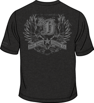 FALCON PREMIUM T-Shirt Vintage Black/Dark Grey Sku # 0152-0109