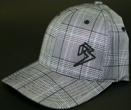 Plaid White/Black Hats SKU # 0217-21