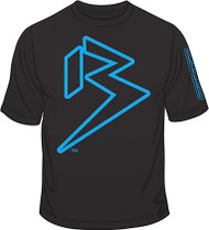 NEON Cyan blue on Black SKU # 0113-41