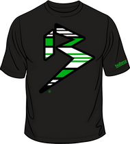 GRANDE BLITZ PREMIUM TEE - BLACK/LIME/WHITE