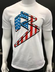 FREEDOM B - WHITE - RED/WHITE/BLUE SKU: 0162-02625
