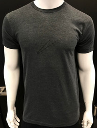 B BRAND TEE - HEATHER BLACK - PREMIUM BLEND SKU: 0111-01