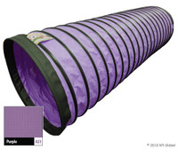 "In Stock 20'/4"" Standard Tunnel - PURPLE"