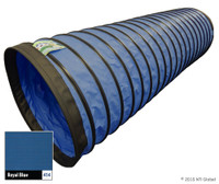 "In Stock 20' 4"" TUFF TUNNEL - ROYAL BLUE"