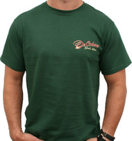 Walk With Him - Forest Green Front/Back Logo