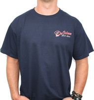 Walk With Him - Navy Front/Back Logo