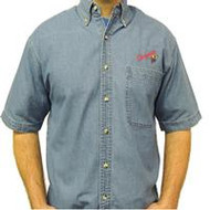 Upper Room Chrysalis Denim Shirt (Short Sleeve)