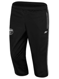CLARKSTOWN 3/4 TRAINING PANTS -- BLACK WHITE