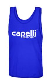 CLARKSTOWN CAPELLI SPORT PRACTICE PINNIE -- BLUE