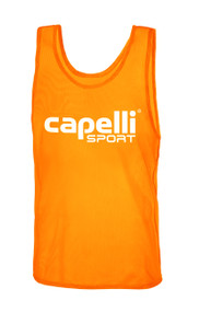 CLARKSTOWN CAPELLI SPORT PRACTICE PINNIE -- ORANGE