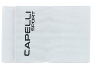 CAPELLI SPORT ADULT CAPTAIN ARM BAND -- WHITE  **** ITEM AVAILABLE 11/8
