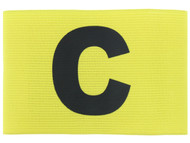 CAPELLI SPORT ADULT CAPTAIN ARM BAND -- YELLOW  **** ITEM AVAILABLE 11/8