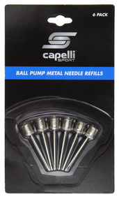 BALL PUMP NEEDLES 6 PACK -- SILVER COMBO