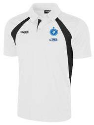 PENN FC PRO RAVEN POLO -- WHITE BLACK