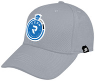 PENN FC PRO BASEBALL CAP -- GREY WHITE