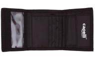 4  CUBE  WALLET --   BLACK   SILVER