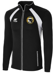 BIG CAT RAVEN TRAINING JACKET -- BLACK WHITE
