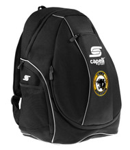CS ONE UTILITY SOCCER BACKPACK -- BLACK WHITE