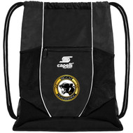 CS ONE UTILITY SOCCER SACKPACK -- BLACK WHITE