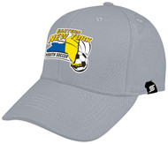 CS ONE TEAM BASEBALL CAP-- LIGHT GRAY