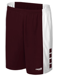 KINGS PARK GRIFFON SHORTS -- MAROON WHITE