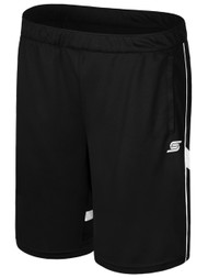 KINGS PARK RAVEN TRAINING SHORTS WITH POCKETS  -- BLACK